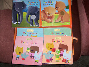 Box set of 6 French Books, toddlers