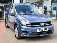 2018 Volkswagen Caddy Maxi C20 2.0 TDI (150PS) HIGHLINE Automatic Panel Van Dies
