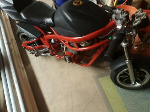 49cc DUCATI POCKET BIKE