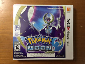 Pokemon Moon For The 3DS
