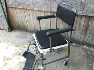 Shower Commode Transport Chair