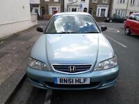 2002 HONDA ACCORD 1.8i VTEC S 4dr