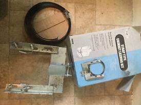 "Philex slx Aeriel chimney lashing kit quick fit up to 2"" mast pole"