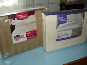 NEW - 2 FULL (DOUBLE) SIZE SHEET SETS