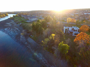 RARE luxury WATERFRONT lot for sale on Winding Way