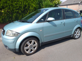 image for Audi A2 5 door 2001 1.4 petrol engine working with valid MOT
