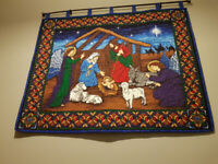 Quilted Nativity Wall Hanging