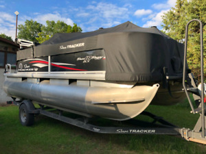 2018 18' bass buggy dxl pontoon boat
