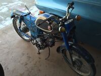 1960's Yamaha Campus 60 parts or project