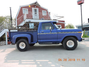 1977 Ford 1/2 ton stepside 4x4