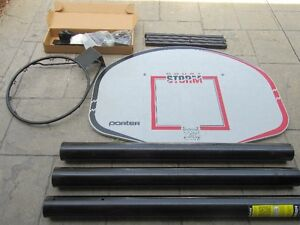 Outdoor Basketball In-Ground System Never Used Porter Athletic E