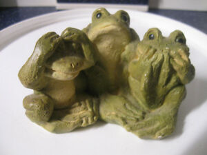 MONKEYS and FROGS with the SAME MESSAGE