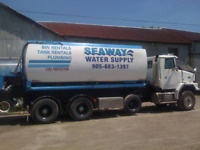 Bulk Water Delivery A1 Service