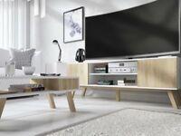 TV entertainment unit plus optional coffee table