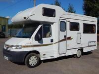 Autocruise STARSPIRIT, 2002, 4 Berth, 1 Owner, LOW MILES 12,969. U-Shaped Lounge