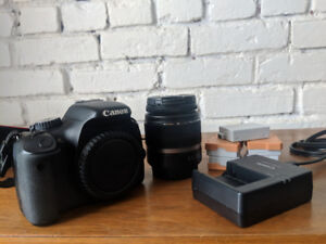 Canon T2i + EF-S/18-55 IS II lens + 5 batteries