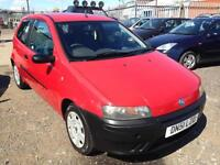 2002/51 Fiat Punto 1.2 FULL MOT EXCELLENT RUNNER