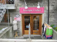 LOCAL COMMERCIAL à louer St-Denis/Duluth 850 pc.