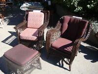 Wicker Furniture Circa 1920-1930's
