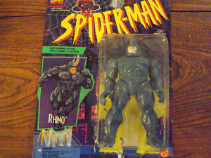 SPIDER-MAN RHINO ACTION FIGURE IN PACK