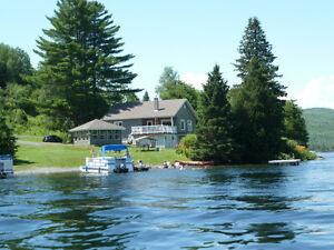 Maison bord de l'eau Lac Baker