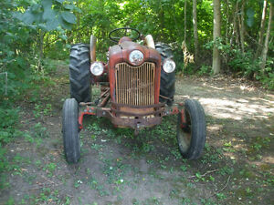 1957 FORD 651  WORKMASTER TRACTOR