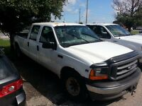 2000 F250 superduty crew cab for parts.