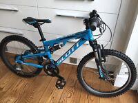 Scott Spark 20 - kids full suspension mountain bike