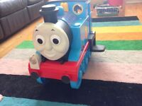 Thomas ride on and Thomas toy and tracks