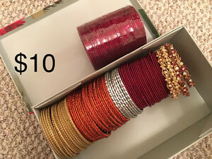 Assorted bangles