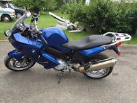 Bmw f800 st 2008 sport moto route