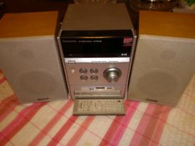 Panasonic mini hi-fi stereo system DAB radio