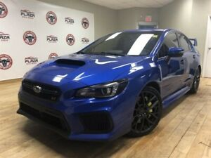 2018 Subaru WRX STi 4Dr Sport Pkg 6sp OFF Lease, Heated Seats, S