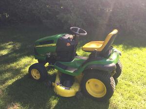 John Deere la130 lawn tractor