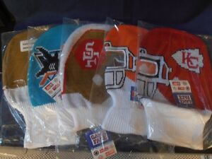 GAME FACE HATS - NFL/NHL - NEW! - reduced price