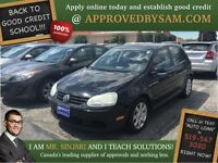"Deep Black Pearl VW Rabbit  - TEXT ""AUTO LOAN"" TO 519 567 3020"