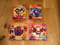 Marvel and DC Busy Books and Puzzle Books