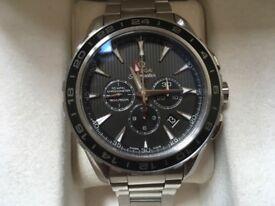 Omega aqua terra gmt chronograph chronometer