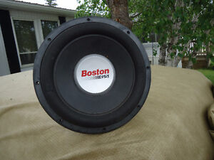2x Boston 12 inch g5s sub woofers  in box