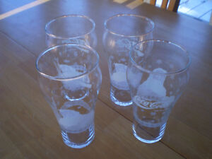 COCA COLA CHRISTMAS GLASSES Windsor Region Ontario image 1