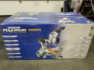 "New 12"" Mastercraft Maximum Dual Bevel Sliding Mitre Saw"