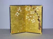 Japanese Sakura Cherry Blossom 2 Fold Gold Leaf Screen Art Decor Boondall Brisbane North East Preview