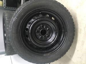 Toyota Matrix rims and tires