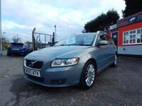 2007 Volvo V50 2.0D SE Lux 5dr 2 former keepers,2 keys,full service,cam belt ...