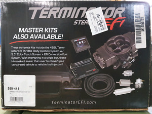 Holley Terminator Stealth EFI with regulator and MSD distributor