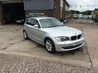 2008 BMW 118 2.0 SE 3DR 6 SPEED STOP/START, ONLY 87000 MILES