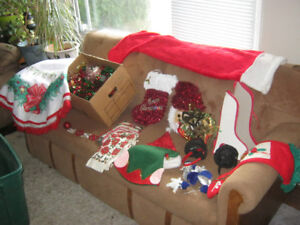 Lots of Christmas decorations - EUC - $5