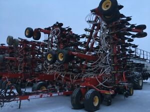 76ft Bourgault with 6700 Air Cart