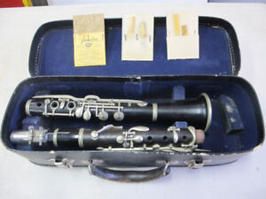 Antique Clarinet & Case