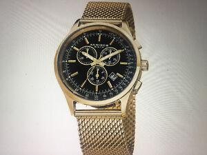 Akribos XXIV Men's Swiss Quartz Chronograph Mesh Watch